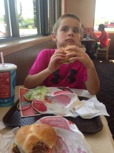 Victory burgers.